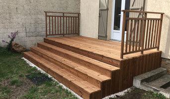 Aménagement exterieur: Terrasse en bois