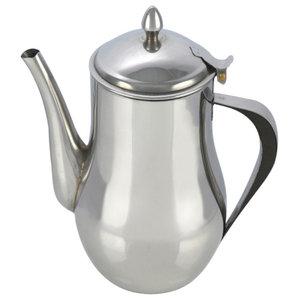1.4 L, 48 Oz, Stainless Steel Tea Pot