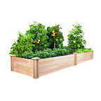 Johnny Appleseed Cedar Raised Flowerbed