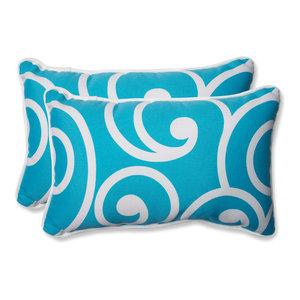 Best Turquoise Rectangular Throw Pillow, Set of 2