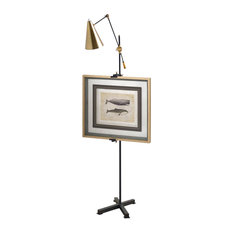 "Easel Floor Lamp ""Montague"" by Mercana"