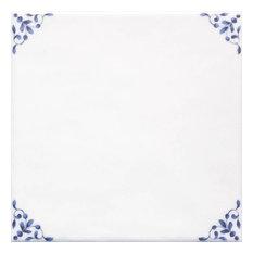 English Ddelftware Blue & White tiles 20 x 20 cm 1m²