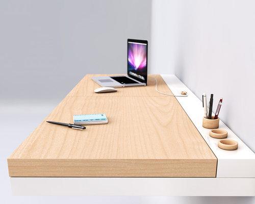 Design di arredo scrivania sospesa emma