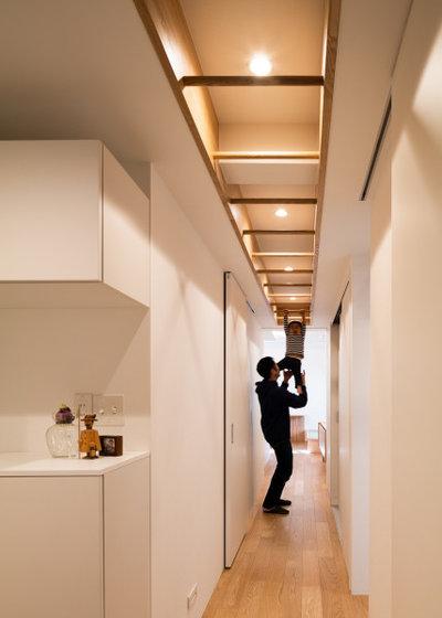 北欧 廊下 by e do design 一級建築士事務所