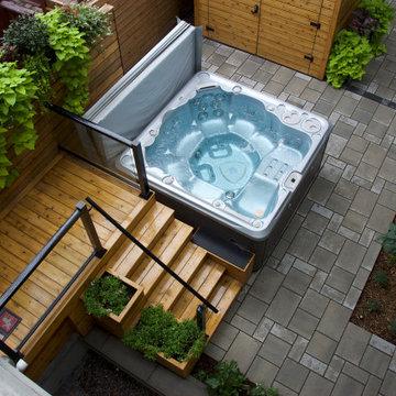 Multi-Use Urban Backyard