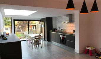 Modern Side Return Extension to Terrace