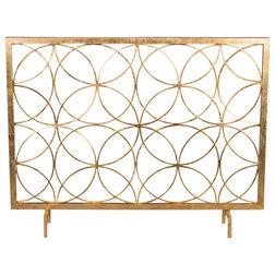 Contemporary Fireplace Screens by DESSAU HOME