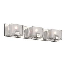 PLC-Lighting 84423PC Filigre Collection 3-Light Vanity, Polished Chrome Finish