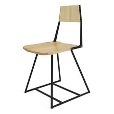 Clarkester Seat, Black, Maple