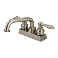 Kingston Brass KB247.AL 4 GPM Centerset Kitchen Faucet