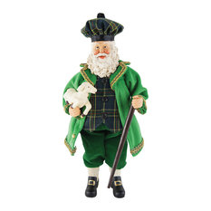 "12"" Irish Santa With Lamb"