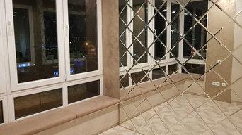 Зеркальное панно ЖК Татьянин Парк