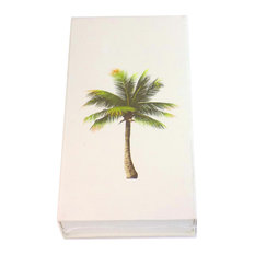 "The Joy Of Light Designer Matches Palm Tree On White 4"" Collectable Matchbox"