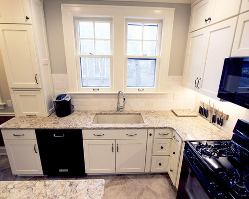 Century Home White Kitchen Remodel ~ Akron, OH - Kitchen Cabinetry