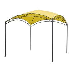 International Caravan Catalina Dome Top Outdoor Gazebo, Lemon Yellow