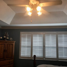 Plantation Shutters for Sliding Glass Doors - Track System...
