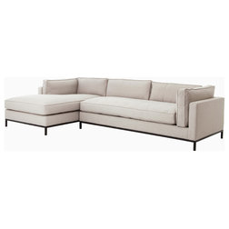 Transitional Sectional Sofas by The Khazana Home Austin Furniture Store