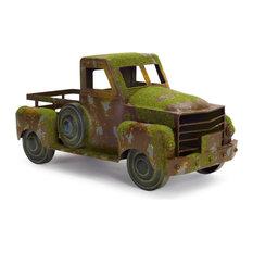 "Pickup Truck 18""x9""H Metal"