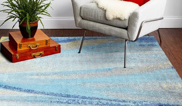 Up to 80% Off Oversized Area Rugs by Hue