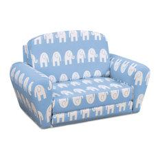 Kangaroo Trading Company, Inc.   Sweet Dreamer Pull Out Sleeper Sofa, Ele