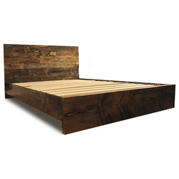 Rustic Platform Beds by Timeless Wood Furniture