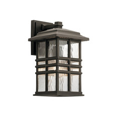 Kichler - Beacon Square Outdoor Wall 1-Light, Olde Bronze - Outdoor Wall Lights and Sconces