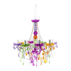 Most popular multicolored chandeliers for 2018 houzz renaissance2000 multicolor chandelier chandeliers mozeypictures Images