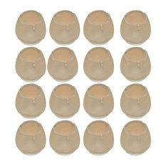 24 Piece Transpa Silicone Chair Leg Caps Furniture Floor Protectors 06