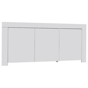 Amalia 3-Door High Gloss Sideboard