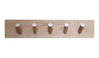 Modern Wood Coat Rack
