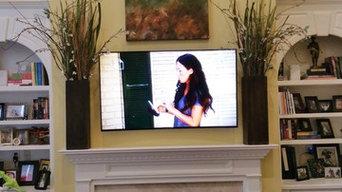 living room install