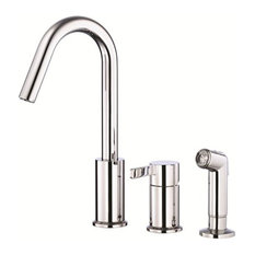 Danze Chrome Single Handle Kitchen Faucet, Amalfi Collection