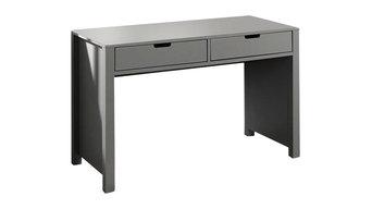 Guillaume 2-Drawer Desk, Grey