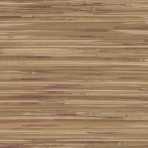 York Wallcoverings Taupe Grasscloth Strippable Non Woven: Grasscloth Wallpaper For Sale