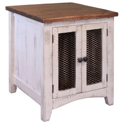 Farmhouse Side Tables And End Tables by Crafters and Weavers