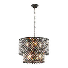 seeded chandelier heirloom glass light belton wide with gull shades lighting bronze sea