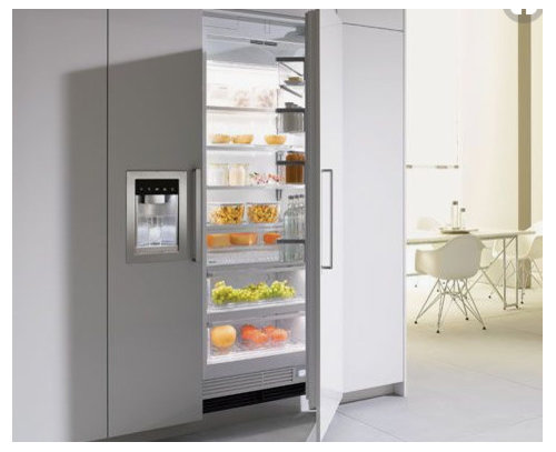 Fully Integrated Fridge With Water And Ice Dispenser