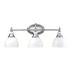 Pocelona 3 Light Bathroom Vanity Light in Chrome