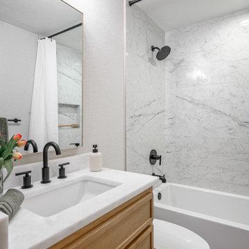 One Room Challenge: Lyons Bathroom, Powder and Laundry Room