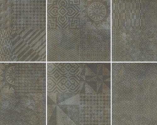 Deco Firenze Graphite Mix - Wall & Floor Tiles