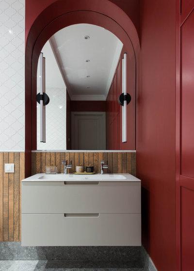 Неоклассика Ванная комната by Интерьерная студия AI
