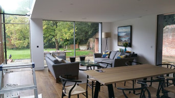 Church Farm House, Twyford - Side extension with glass link & house renovation