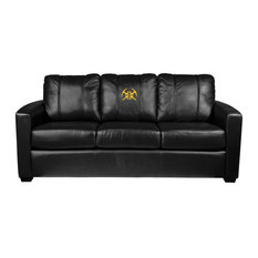 Denver Nuggets NBA Silver Sofa With Secondary Logo Panel