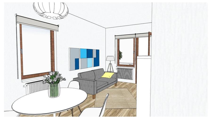 Casa al mare in blu tempesta - Houzz project