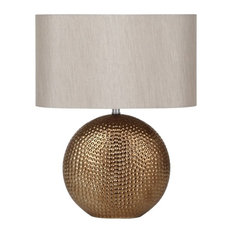 Mable Table Lamp, Gold Finish