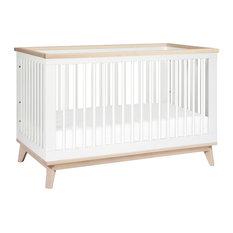 Modern baby convertible cribs