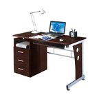 Peregrine Computer Desk, Chocolate