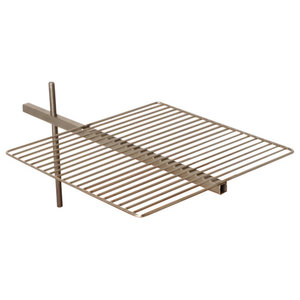 Light My Fire Outdoor Fire Pit, Grill Grate and Bracket