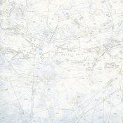 Canaveral Blue Charts Wallpaper, Bolt