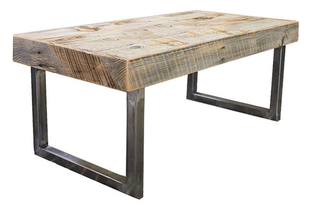 Reclaimed Wood Coffee Table Industrial Coffee Tables by JW